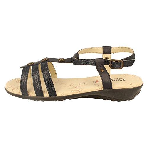 azul correa Zapatos mujer con de tobillo Padders marino Azul 0aOwq