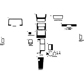 Amazon Rdash Dash Kit Decal Trim For Jeep Wrangler 20032006. Rdash Dash Kit Decal Trim For Jeep Wrangler 20032006 Carbon Fiber 3d. Jeep. Jeep Wrangler Dash Diagram At Scoala.co