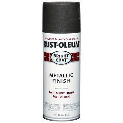 Rustoleum 7713-830 11 Oz Dark Bronze Bright Coat Metallic Finish Spray Paint