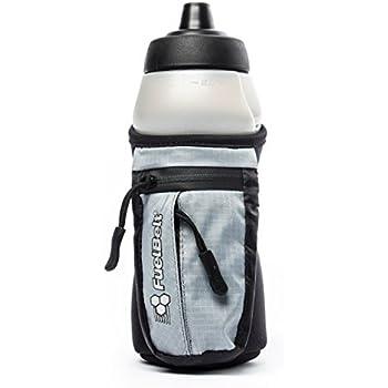 FuelBelt Enduro Fuel Hand-Held Running Water Bottle with Storage Pouch, 16 oz