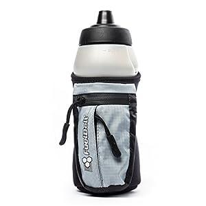 FuelBelt Enduro Fuel Hand Held Running Water Bottle with Storage Pouch, 16 oz