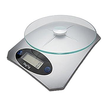 Báscula electrónica de cristal para cocina, balanza de cocina, báscula de cocina, tamaño