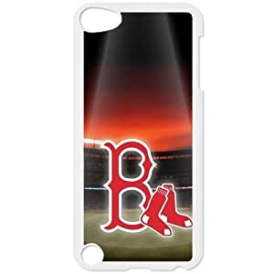 MLB IPod Touch 5 White Boston Red Sox cell phone cases&Gift Holiday&Christmas Gifts NADL7B8826067