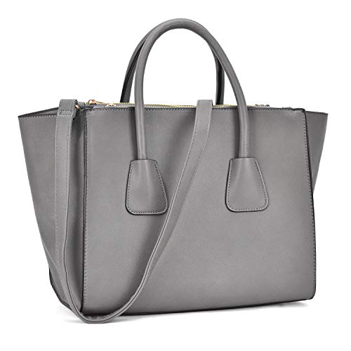 Handbags Designer Shoulder Bag Structured Tote Satchel Purses ()
