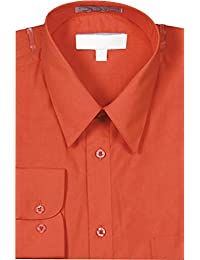 Men's Slim Fit Basic Shirt Button Cuff
