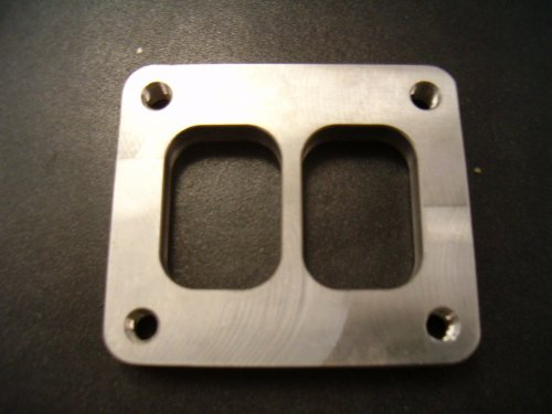 FID-Turbo Divided T4 Turbo Inlet Flange - Mild Steel