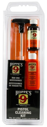 (Hoppe's No. 9 Cleaning Kit with Aluminum Rod, .22 Caliber Pistol)