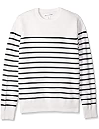 Men's Crewneck Stripe Sweater