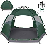Best 3 Man Tents - Amagoing 3-4 Person Tents for Camping Instant Setup Review
