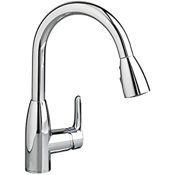 American Standard 4175.300.002 Colony Soft Pull-Down Kitchen Faucet, Polished Chrome