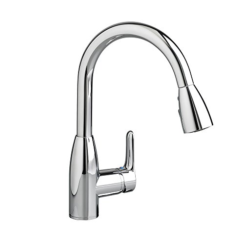 American Standard 4175300.002 Colony Soft 1 Handle High Arc Pull Down Kitchen Faucet, 1.5 GPM Polished Chrome American Standard Chrome Soft Faucet