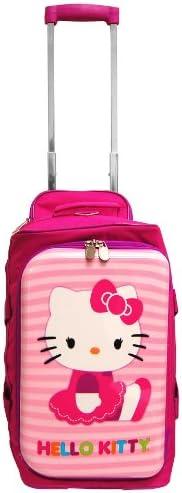 18 Sanrio Hello Kitty Rolling Luggage Duffle Bag