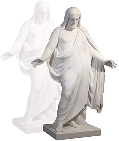 S4A Handmade One Moment In Time Cultured Marble Statue Christus Statue 6