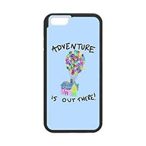 iPhone6 Plus 5.5 inch Phone Case Black Adventure Is Out There ZBC370359