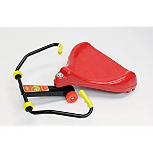 "THE Original Deluxe Roller Racer ""Sit-Skate"" ~ Red Scooter ~ Made in USA by Mason Corporation, BEST of Mason Scooters & Engineering Marvel! Completely assembled"