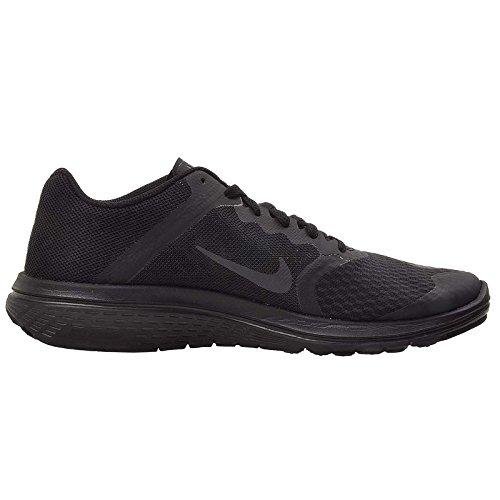 Nike Fs Lite Run 3 Femmes Bout Rond Synthétique Chaussure De Course (7 B (m) Us, Noir / Anthracite / Gris Foncé)