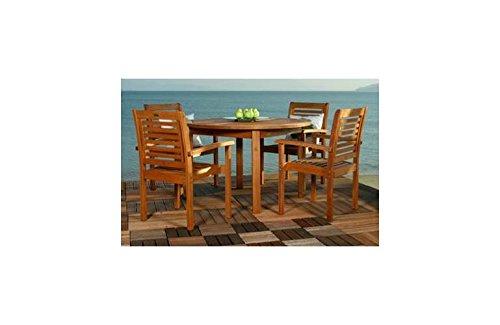 - Amazonia Milano 5 Pc Round Table Set