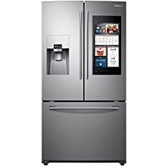 Samsung RF265BEAESR/AA French Door Refrigerator ? Your Food, Your Home, Your Life The Samsung stainless steel 24 cu. ft. French door refrigerator with Family Hub? gives you a whole new way to experience your kitchen. The Family Hub? lets you ...