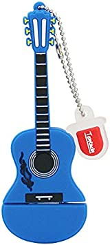 8GB Guitarra Azul USB Flash Drive pendrive Pen Drive USB 2.0 Flash Drive Memory Stick U Disco: Amazon.es: Electrónica