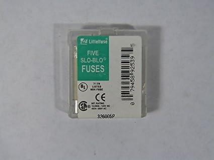 littelfuse 326 5a ceramic fuse 5amp box of 5 amazon com industrial rh amazon com 5X20 Fuses 250V 8A 5X20 Fuses 250V 8A