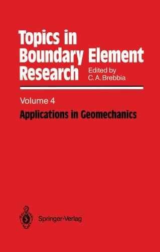 Applications in Geomechanics (Topics in Boundary Element Research)