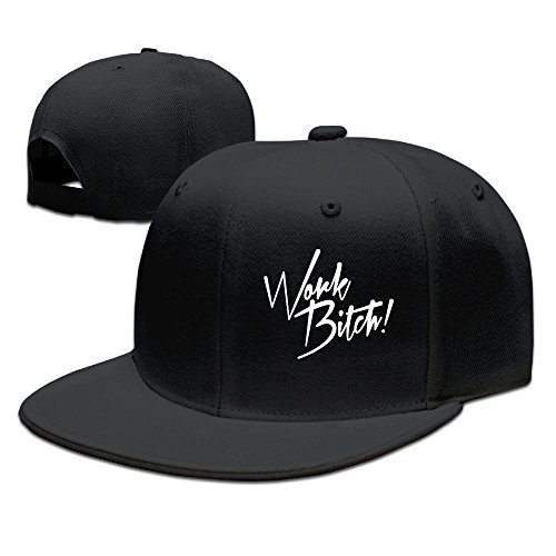 Vicababy Britney Spears Work Bitch Fitted Hat Baseball (Britney Cap)