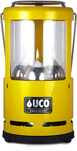 Industrial Revolution UCO Candlelier Candle Lantern, Yellow