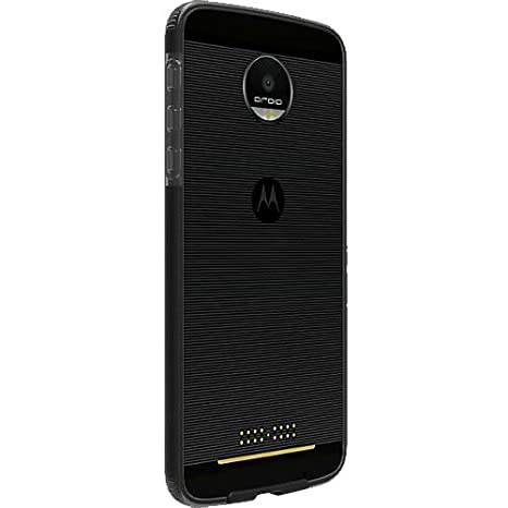 the latest 268f5 fd7e1 Verizon Motorola Moto Z Droid OEM Two-Tone Case - Black / Gray
