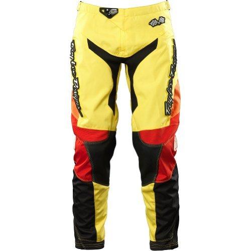 Troy Lee Designs GP Airway Women's MX/Off-Road/Dirt Bike Motorcycle Pants - Yellow / Size 5/6 (Troy Lee Dirt Bike Helmet)