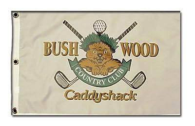CaddyShack Bushwood Pin Flag