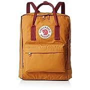 Fjallraven, Kanken Classic Backpack for Everyday, Acorn/Ox Red