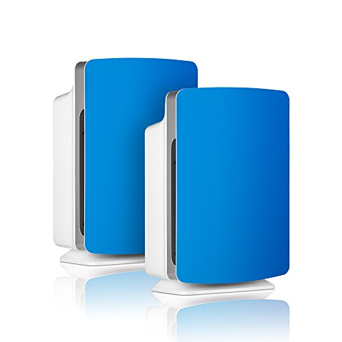 Alen-BreatheSmart-FIT50-Customizable-Air-Purifier-with-2-HEPA-Pure-Filter-for-Allergies-and-Dust-Electric-Blue-Smart-Bundle-Pure-2-Pack