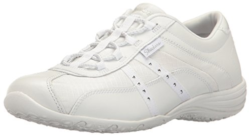 Skechers Unity-Pure Bliss, Formateurs Femme Blanc (White)