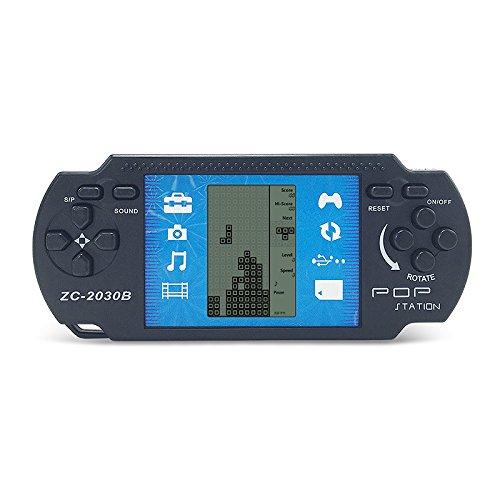 JXD Black Retro Portable Tetris Handheld Built-in 23 Games Tetris Kids Electronic Brick Games