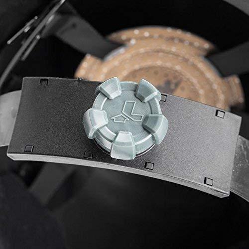 Lift Safety HDF50C-19 Dax Fifty 50 Carbon Fiber Full Brim Hardhat  (Black/White- 2 Pack)