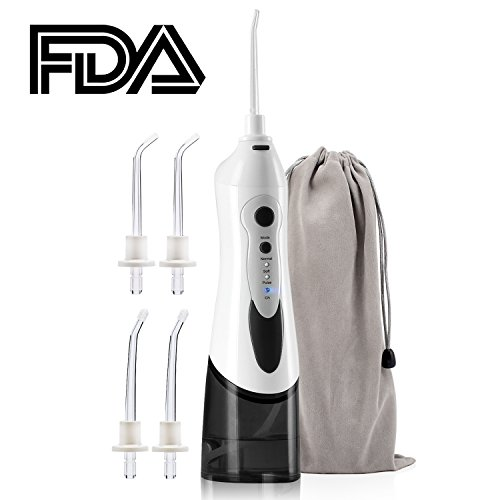 Bearham Cordless Water Flosser, Cordless Oral Irrigator with 3 Modes IPX7 Waterproof Water Flossing Dental With 4 Rotatable Jet Tips Rechargeable Water Dental Flosser Review