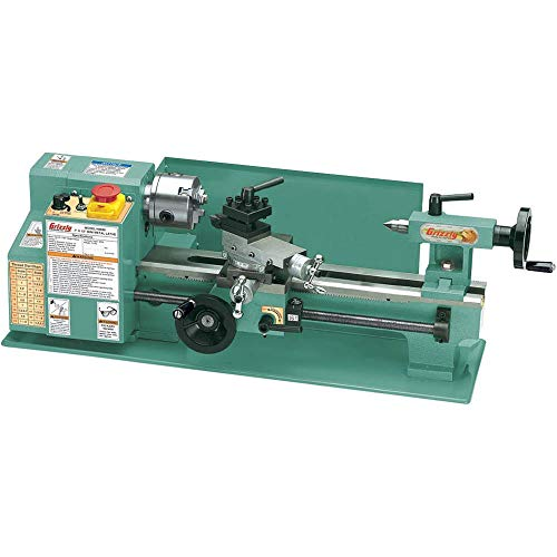 Grizzly G8688 Mini Metal Lathe, 7 x - Lathe Gunsmith