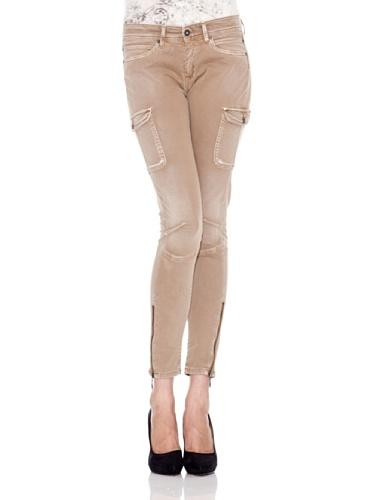 Pepe Jeans London Pantalón Claire Marrón