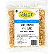 GERBS Dried Cinnamon Apple Cubes, 32 ounce Bag, Unsulfured, Preservative, Top 14 Food Allergy Free
