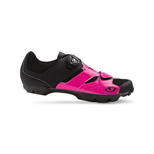 Giro Gf23160 Kvinners Sylinder Skoen Lys Rosa / Svart