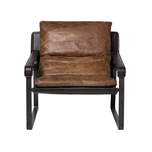 Moe's Home Collection PK-1044-14 Connor Club Chair, Brown For Sale