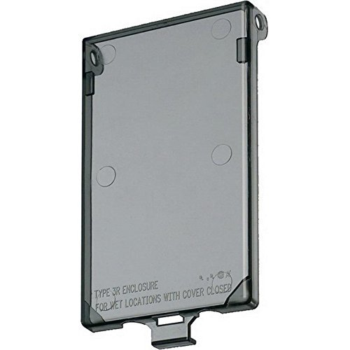 Arlington Industries DBVC-1 Wall Plate Cover Clear