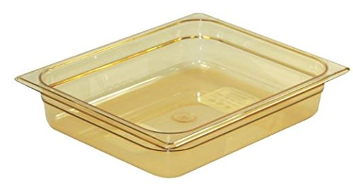 Rubbermaid Commercial Products Rcp 223P Amb X-Tra Hot Food Pan-1/2 Size RCP 223P AMB Xtra Hot Food Pan