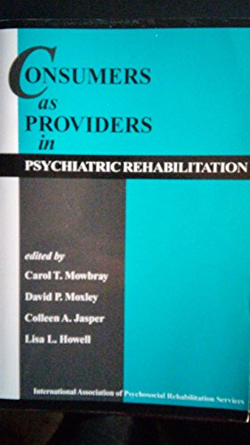 Consumers as providers in psychiatric - Spe Tubes