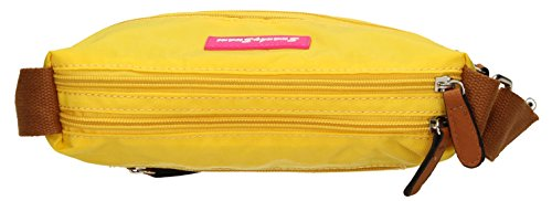 SwankySwans - Jake, Borsa a tracolla Donna Bright Yellow