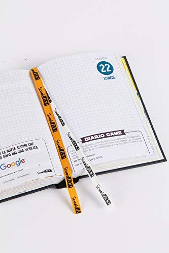 ScuolaZoo Diario 2020-2021 Datato 16 Mesi Limited Edition, Classic 11x15 cm (Nero Metallizzato) 2