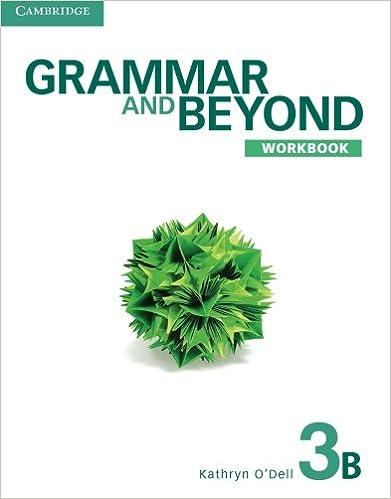 Grammar and beyond level 3 workbook b kathryn odell phyllis lim grammar and beyond level 3 workbook b kathryn odell phyllis lim 9781107601994 amazon books fandeluxe Gallery