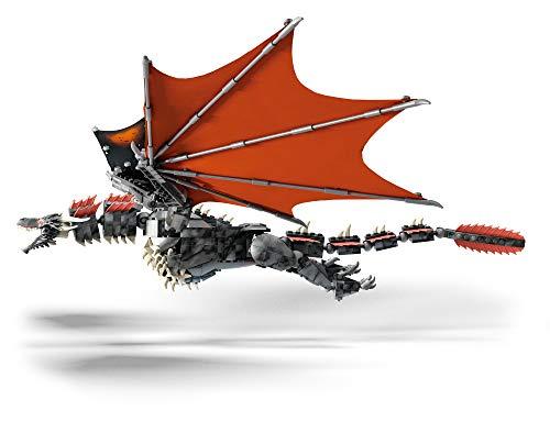 Mega Brands GKG97 Game of Thrones: Daenerys and Drogon - Mega Construx, Multi Color 6