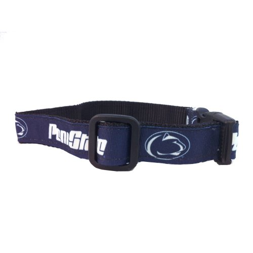 All Star Dogs NCAA Penn State Nittany Lions Dog Collar (Team Color, Large)