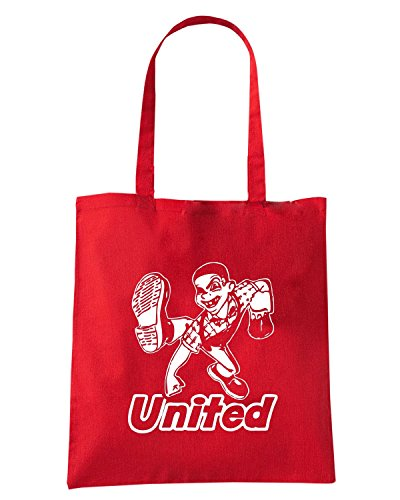 T-Shirtshock - Bolsa para la compra WC0618 United Rojo